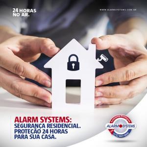 Alarme residencial monitorado