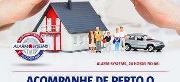 Sistema de segurança eletrônica residencial